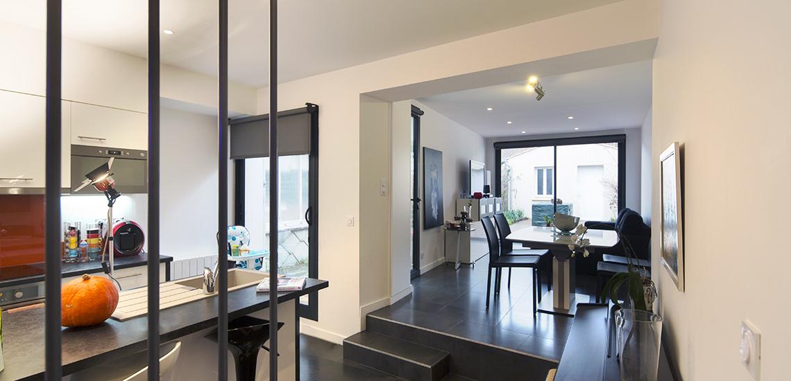 maison de ville bordeaux cliquez sur les images pour les agrandir maison de ville t m begles. Black Bedroom Furniture Sets. Home Design Ideas