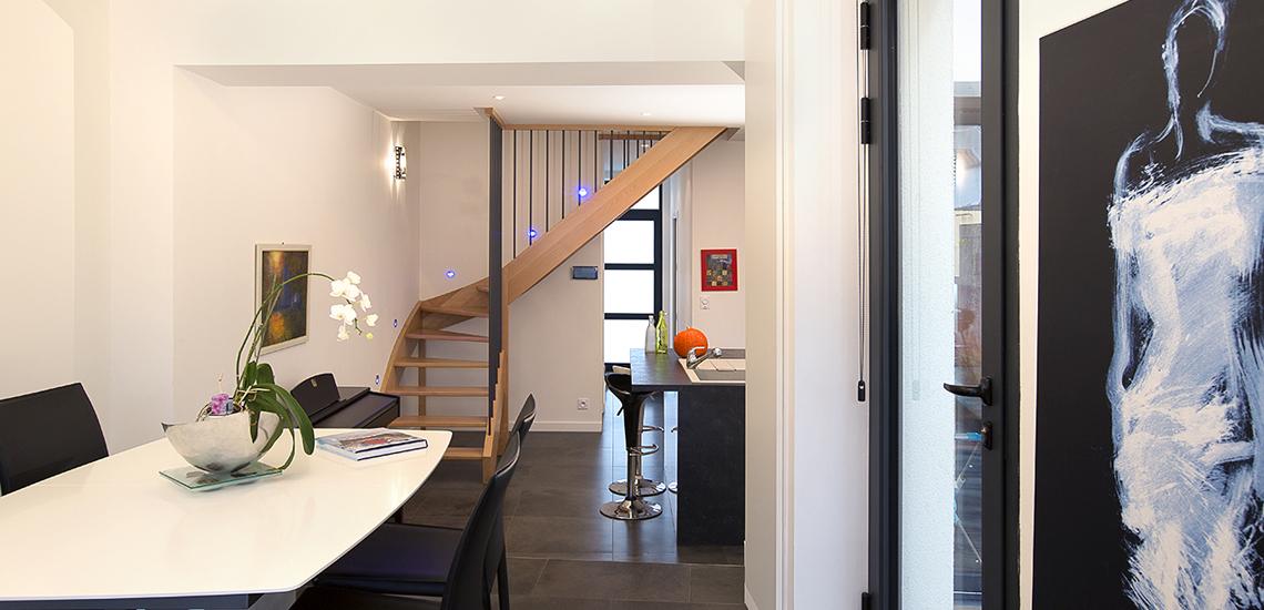 cityzen architectes maison de ville. Black Bedroom Furniture Sets. Home Design Ideas