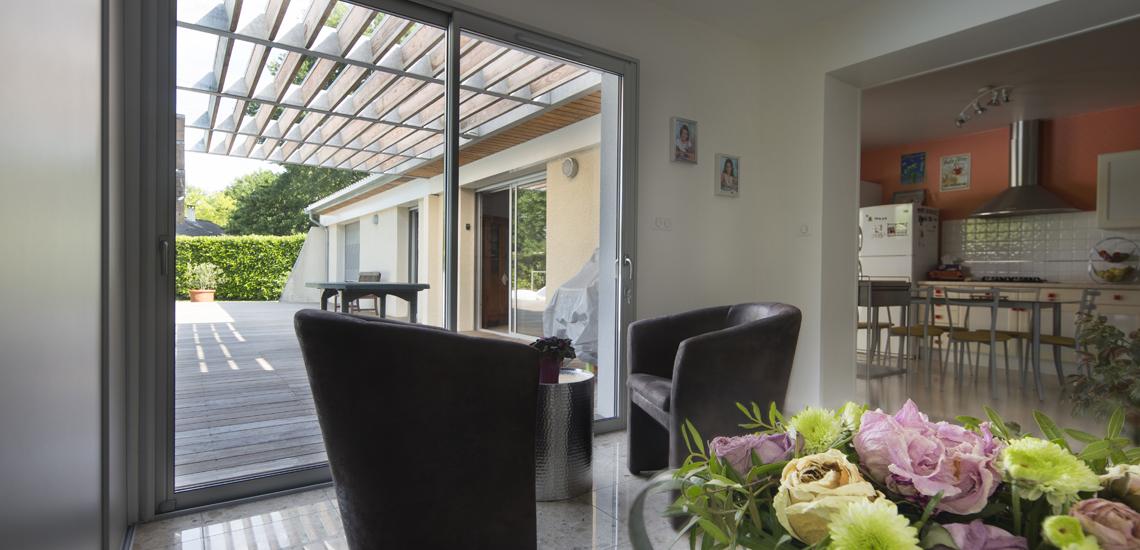 Extension maison habitation saint aubin de medoc cityzen for Extension maison bordeaux